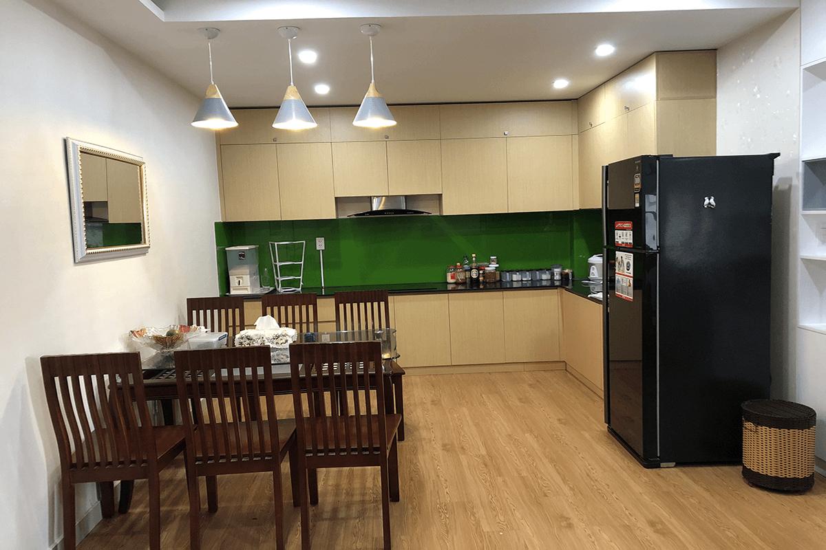 Cho thuê căn hộ chung cư Oriential Plaza 2 PN Full nội thất