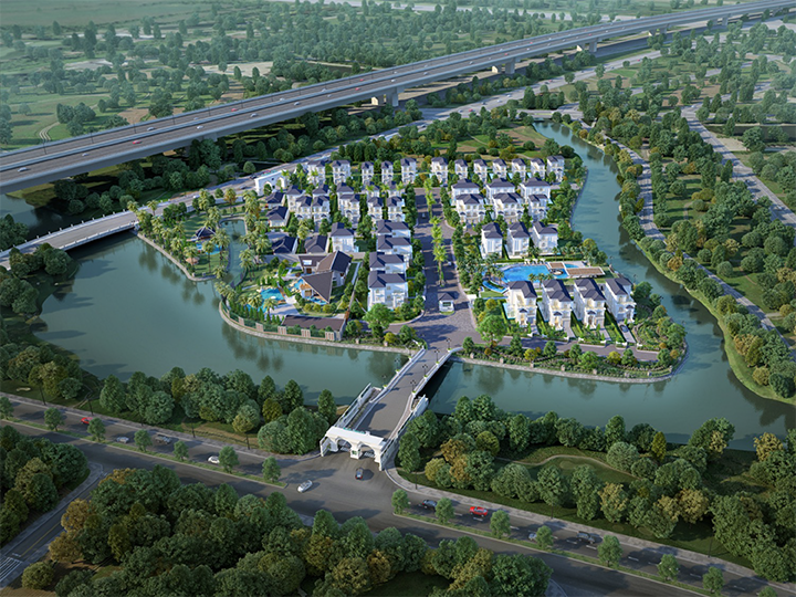 THE VENICA VILLA PROJECT - PEACEFUL OASIS IN DISTRICT 9 | HO CHI MINH CITY